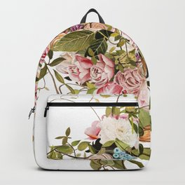 Trailing Jade Bouquet Backpack