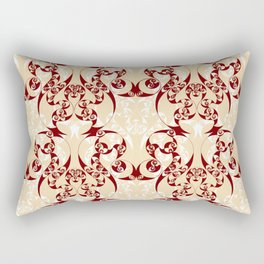 Celtic Loop White Rectangular Pillow