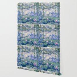 """Claude Monet """"Water Lilies(Nymphéas)"""" (9) 1916–19.jpg Wallpaper"""