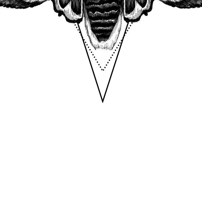 Geometric Moth Leggings