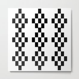 Let the pixels dance! Metal Print
