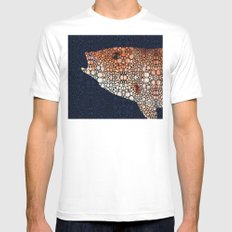 Red Grouper Fish - Florida Art By Sharon Cummings Mens Fitted Tee MEDIUM White