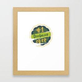 Freelancer Number One Framed Art Print