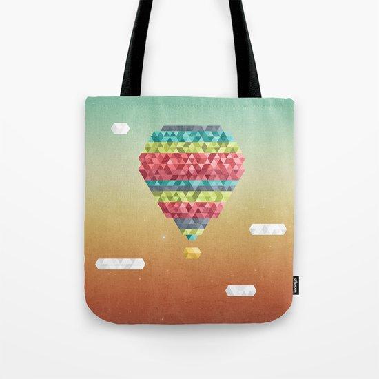 Triangular Skies Tote Bag