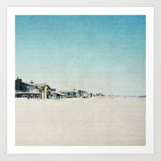 Life On The Beach Art Print