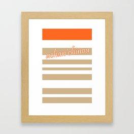 achan'chinou Framed Art Print