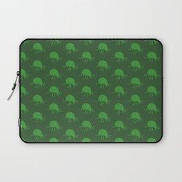 Simple green beetle pattern Laptop Sleeve