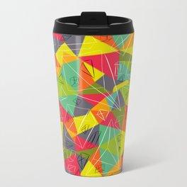 geo frame Travel Mug