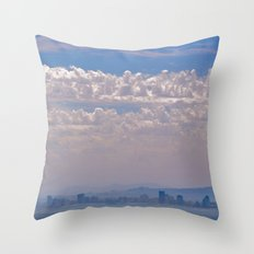Smoky Sky Throw Pillow