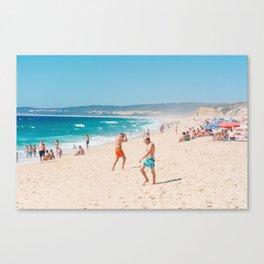 Sesimbra's Coast Canvas Print