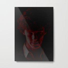 A Study In Scarlet Metal Print