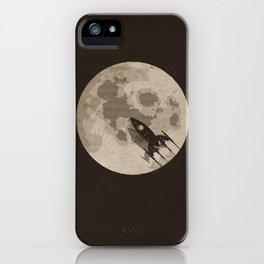 Around the Moon iPhone Case