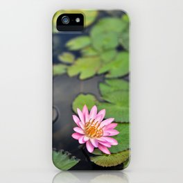 Water Lily, IX iPhone Case