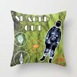 Spaced Out! Throw Pillow