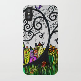 Monday Whimsy Doodle _original iPhone Case