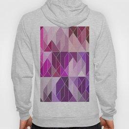Pattern In Pink And Purple Gradient Hoody