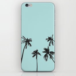 Palm trees 5 iPhone Skin