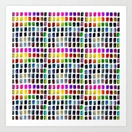 Brushstrokes 1 by Kathy Morton Stanion Art Print