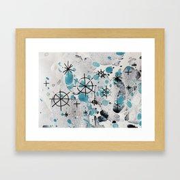 Christmas frost Framed Art Print