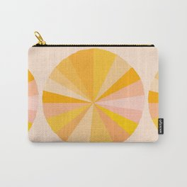 Abstraction_YELLOW_SUNLIGHT_Minimalism_001 Carry-All Pouch
