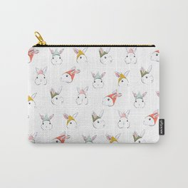 Bunny Elves Carry-All Pouch