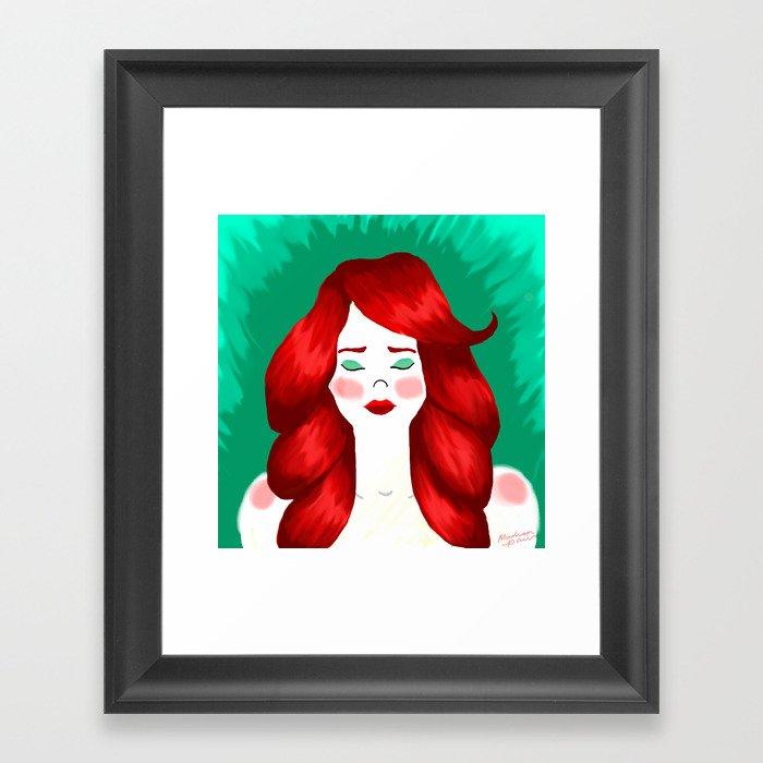 Redheaded Likenesses Framed Art Print