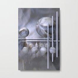 geometric decoration -4- Metal Print