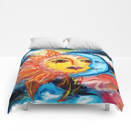 Sun and Moon United Comforters