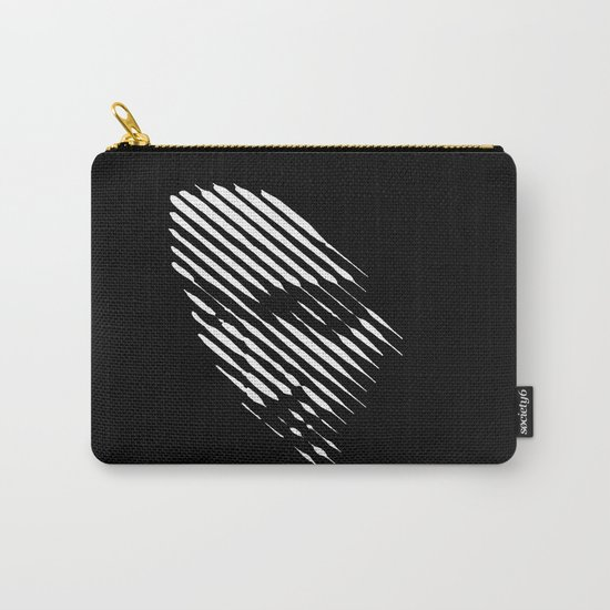 Face Lines Carry-All Pouch
