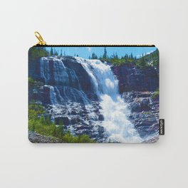 Geraldine Waterfall located in Jasper National Park, Canada Carry-All Pouch