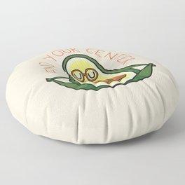 Find Your Center Avocado Yoga Floor Pillow