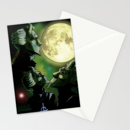 Three Ghoul Moon Stationery Cards