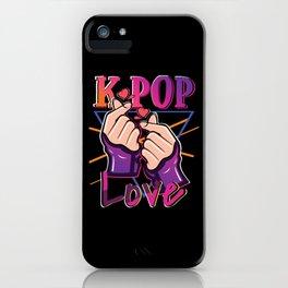K-Pop Love iPhone Case