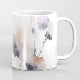 Florals in dust purple and blush pink Coffee Mug