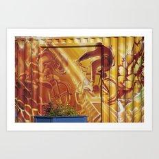 BMX Art Print