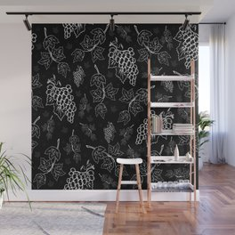 Grape background Wall Mural