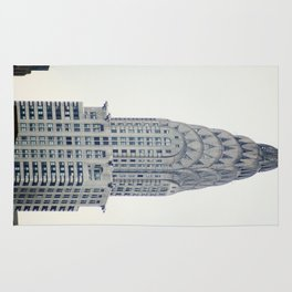 Chrysler Building from Roosevelt Island Rug