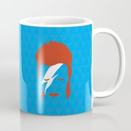 Ziggy Stardust - Blue Coffee Mug