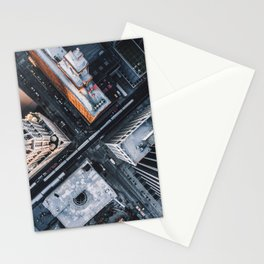 USA Photography - Chicago From Bird Perspective Stationery Cards