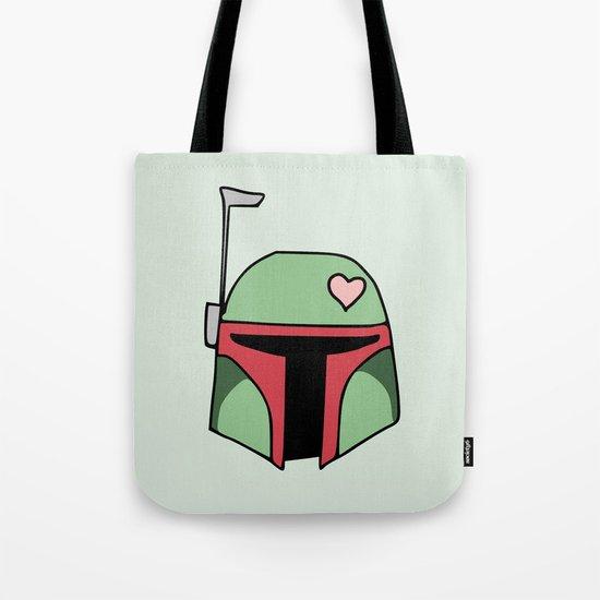 Boba Fett Valentine Tote Bag