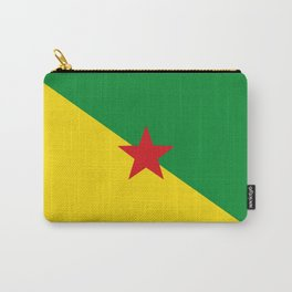 french guiana flag Carry-All Pouch