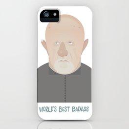 Ehrmantraut World's Best Badass iPhone Case