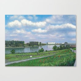 Arakawa Canvas Print