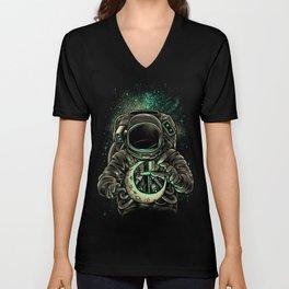 Moon Keeper Unisex V-Neck