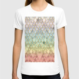 Rainbow Mermaid Scales T-shirt