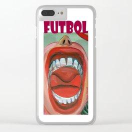 Grito de gol por Diego Manuel Clear iPhone Case