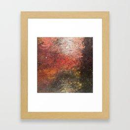 Sunset on Lake Como Framed Art Print
