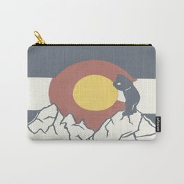 Colorado, the Big Blue Bear and the Rockies Carry-All Pouch