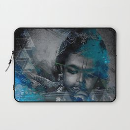 Krishna The mischievous one - The Hindu God Laptop Sleeve