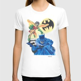 Masked Heroes / Dynamic Duo by Peter Melonas T-shirt